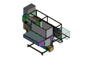 SA CF120 Container Unscrambler 02 Shemesh Automation