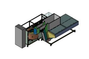 SA CF120 Container Unscrambler 06 Shemesh Automation
