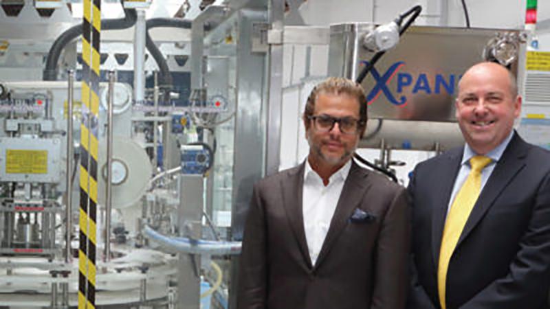 Xpander monoblock packaging machine Liquid Filling Machines Shemesh Automation