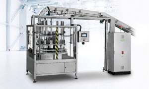 SAS-120 Round Wipes Canister Loader Shemesh Automation