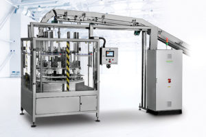 SAS120 b Round Wipes Canister Loader Shemesh Automation
