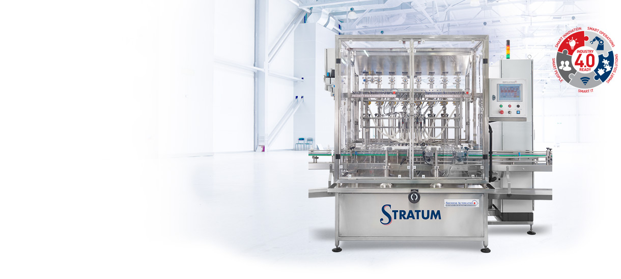 SA Stratum Automatic Filling Machine Shemesh Automation